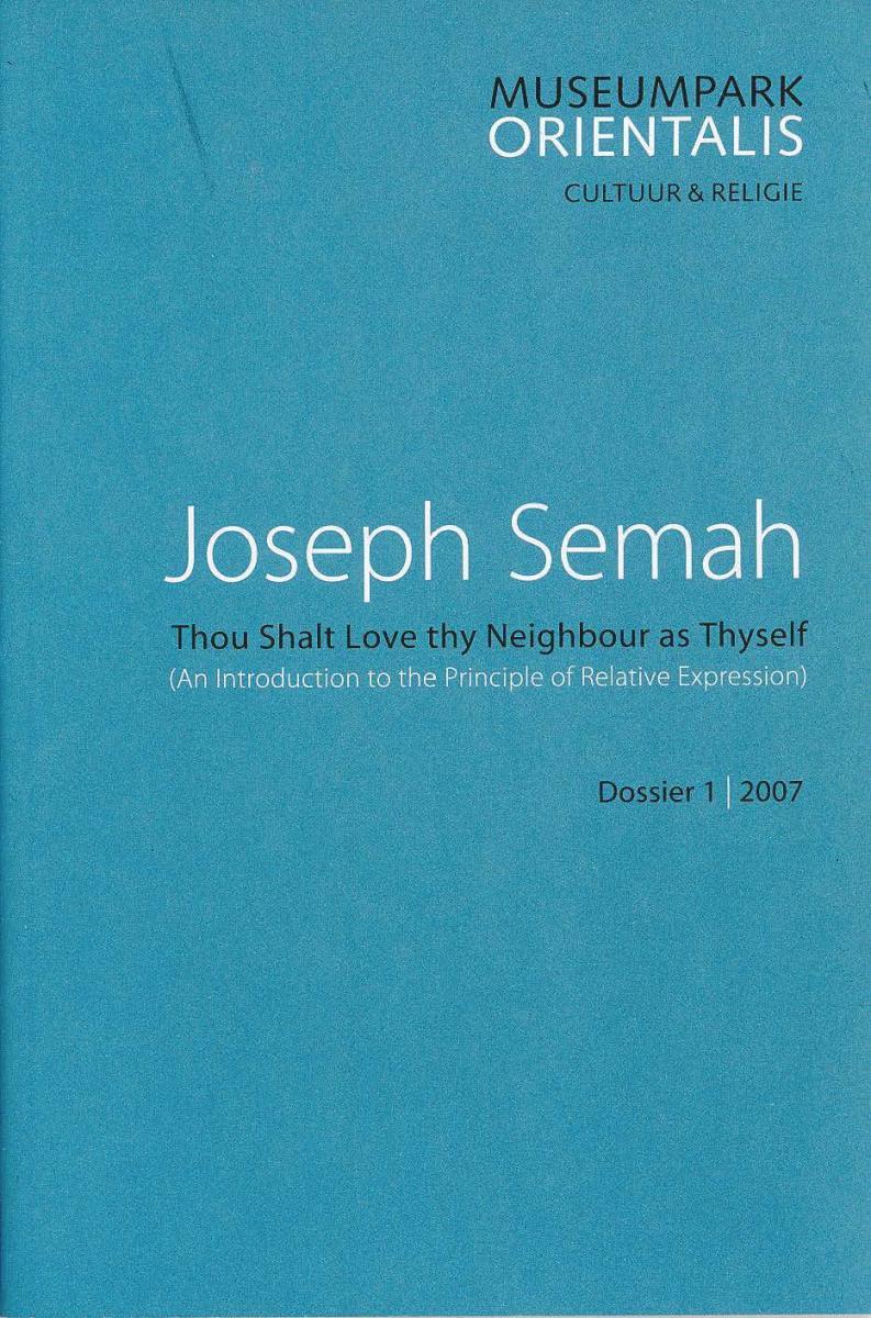 Book: Thou Shalt Love thy Neighbour as Thyself